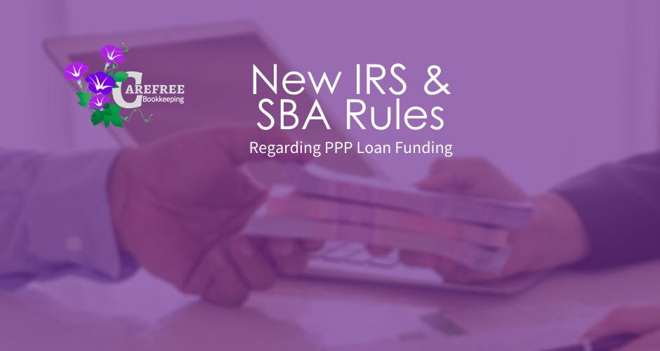 New IRS & SBA Rules