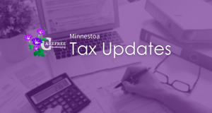 Minnesota income tax returns