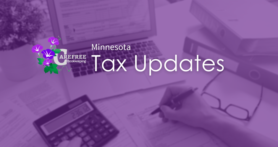 Minnesota Tax Updates